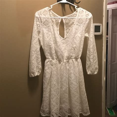 Lace Dress Hollister 75 hollister dresses skirts hollister white lace