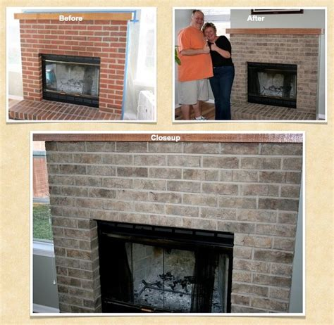 batavia brick paint stain refinish project