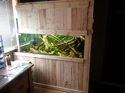 meuble aquarium fabrication