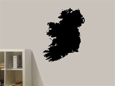 wall stickers ireland ireland map wall decal wall decal sticker