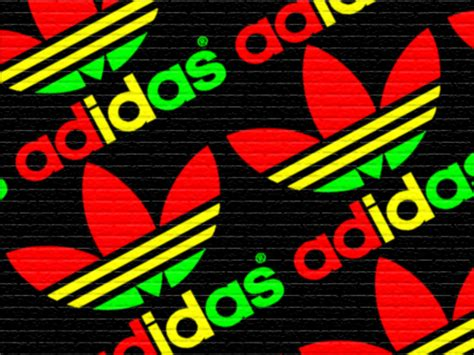 adidas reggae wallpaper adidas rasta street art by dropdeadjohn on deviantart