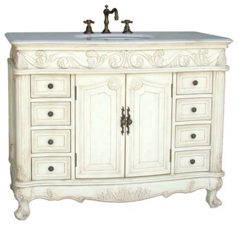 Traditional Vanity by 42 Quot Classic Style Loehman Bathroom Sink Vanity