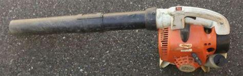stihl big  handheld leaf blower tools machinery