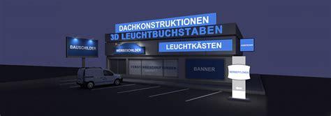 beleuchtung reklameschild leuchtbuchstaben leuchtk 228 sten großformatdruck schilder