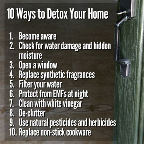 Safe Way To Detox At Home by 130 Best Images About Toxic Mold The On