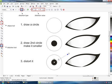 tutorial vector corel draw x7 creating vector eyes with coreldraw