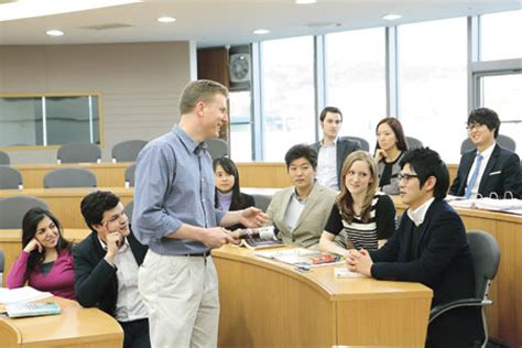 Mba Korea by Foreigners Flock To Korean Mba Programs