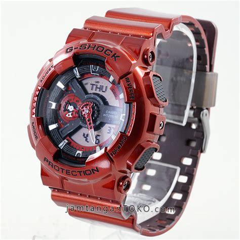 Jam Tangan Gshock Ga110 Ori Bm g shock terbaru neo metallic ga110 merah ori bm bagian
