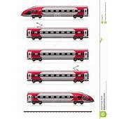 Modern High Speed Train Set Stock Images  Image 34659474