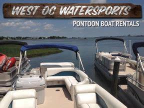 chaparral boats ocean city md pontoon boat rentals in ocean city md ocbound