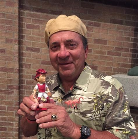johnny bench bobblehead may 16 2015 cincinnati reds vs san francisco giants