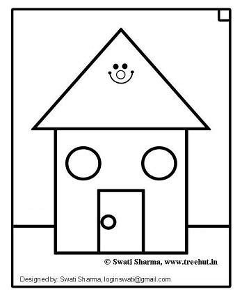 house coloring pages for preschoolers best photos of house coloring pages for preschoolers
