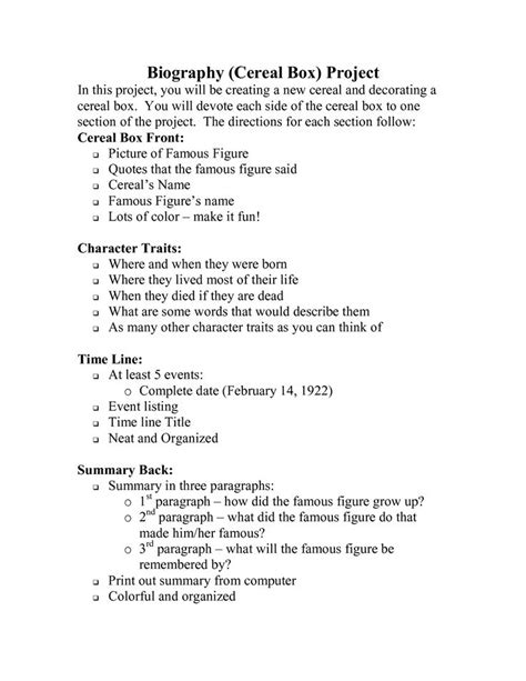 unit 7 biography and autobiography best 25 biography project ideas on pinterest