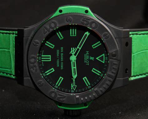 Hublot Vendome Bigbang Green Black hublot magic all black green watches on most