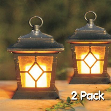 Outdoor Solar Candle Lights 2pc Solar Flickering Candle Coach Lanter My Secret Garden Popular Solar And