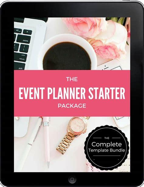 Event Planner Template Bundle Event Planning Certificate Event Planning Packages Template