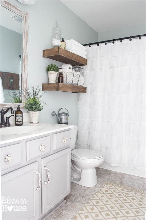 bathroom makeover ideas modern farmhouse bathroom makeover reveal