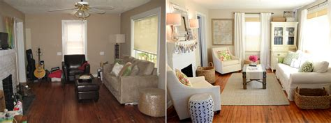 perfect amazing before and after living room r 30690