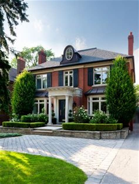 Classic Georgian House Plans by Makow Associates Architects Inc Partnership Toronto