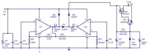 Ic Tda 2003 Ic St Audio Lifier voltage converter circuit using tda 2003 simple schematic diagram