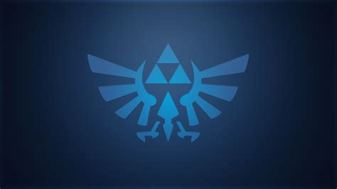 blue zelda wallpaper minimalistic blue triforce wallpaper by createvi on deviantart