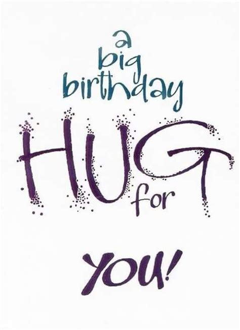 a big birthday hug books a big birthday hug for you tjn birthday