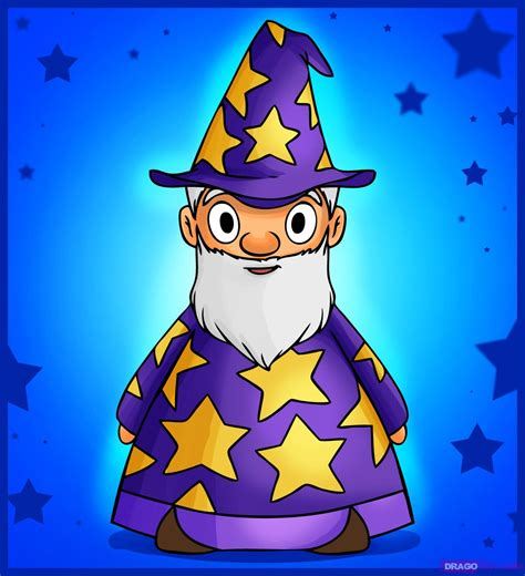 free online face shape wizard how to draw a cartoon wizard step by step wizards