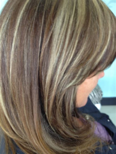 medium lentgh hair with highlights and low lights 1000 images about hair on pinterest dark brown
