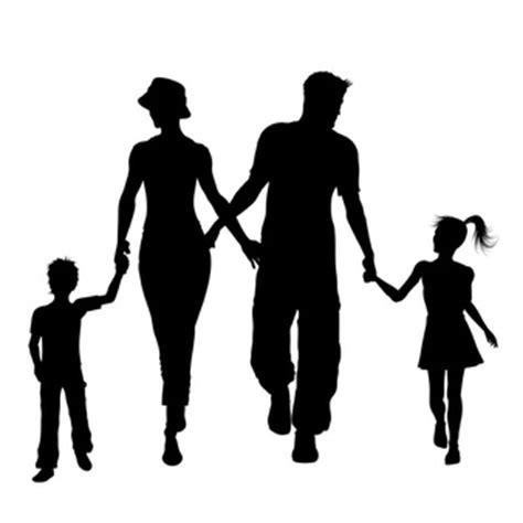 vectores de siluetas completamente gratis recursos photoshop silueta familia fotos y vectores gratis