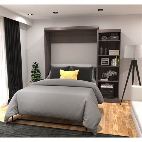 queen murphy bed red barrel studio jordan queen murphy bed reviews wayfair