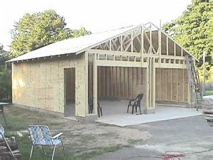 How To Build A 2 Car Garage by Building Your Own 24 X24 Garage And Save Money Steps