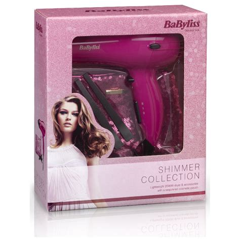 Babyliss Styling Hair Dryer Gift Set babyliss limited edition hair dryer gift set free