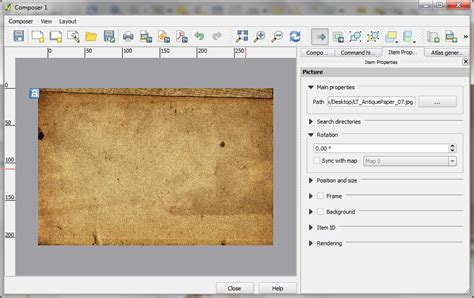lock layout view gis vintage map design using qgis the spatial blog