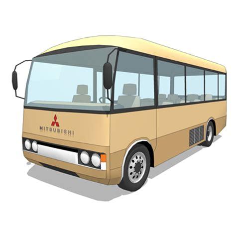 Mitsubishi Rosa 2020 by Mitsubishi Rosa 3d Model Formfonts 3d Models Textures