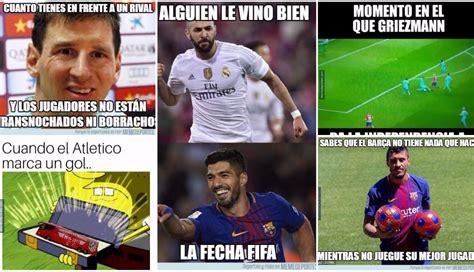 barcelona vs atl 233 tico de madrid los divertidos memes del