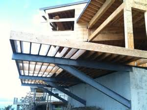 Cantilevered Deck by Graham Barron Design Cliff House Deck Cantilever