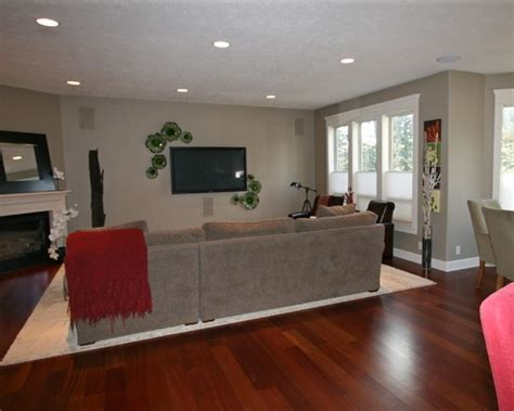 Living Room Wall Colors With Wood Floors Home Interior Is Decorated With 8 Photograph Which Are