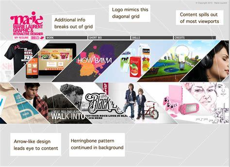 graphic design portfolio layout exles 6 best images of graphic website portfolio ideas graphic