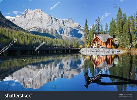 Canadian Mailing Address Lookup Emerald Lake Alberta Canadian Rockies Stock Photo 64131508