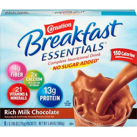 It Up Get Instant Chocolate Milk From A Straw by Carnation Instant Breakfast Rich Milk Chocolate Powder 0