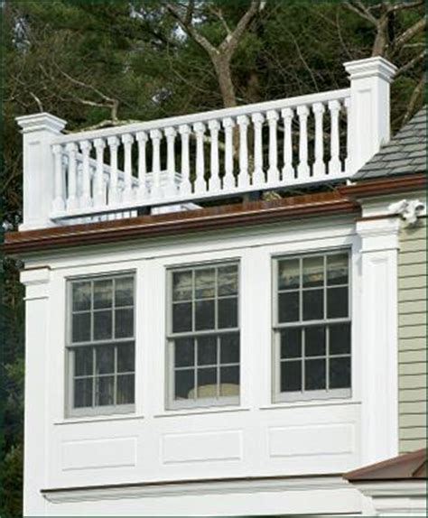 roofline baluster railing commercial and residential