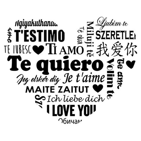 imagenes de te amo en diferentes idiomas te quiero idiomas vinilos baratos decorativos