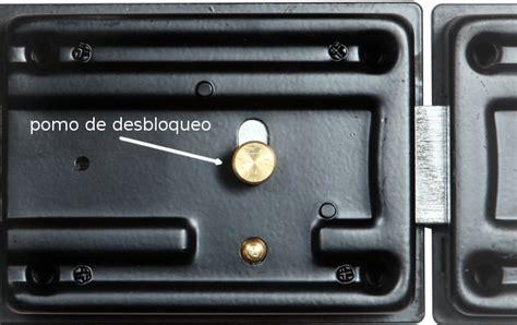 cerradura para puerta con cerrojo 191 segura o no club viro