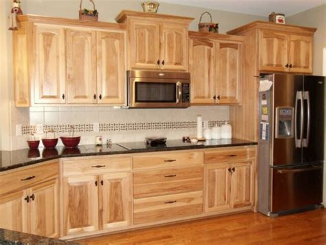 Natural Hickory Kitchen Cabinets | natural hickory cabinets on pinterest hickory kitchen
