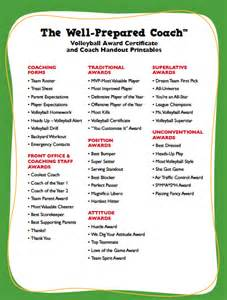 volleyball award certificate templates certificate maker