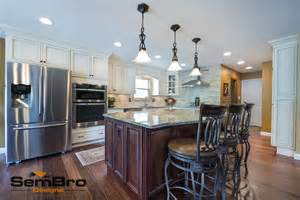 signature kitchen cabinets signature pearl with brownstone kitchen
