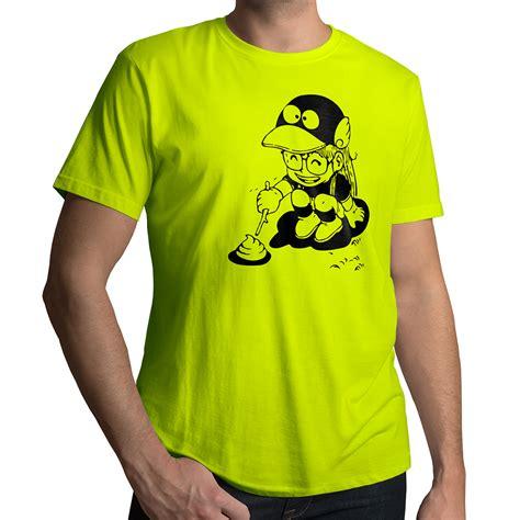 Tshirt Arale Dr Slump dr slump arale norimaki poking mens 100 cotton