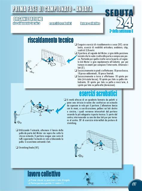 allenamento da portiere di calcio allenamenti portieri serie a in with