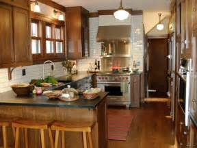 small kitchen layouts ideas kitchen peninsula ideas hgtv