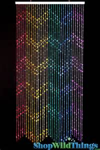 Bead Curtains For Doors Rainbow Beaded Curtains Moons Rainbow Door And Moons Beaded Curtains